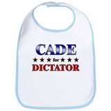 CADE for dictator Bib