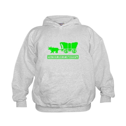 You have died Kids Hoodie
