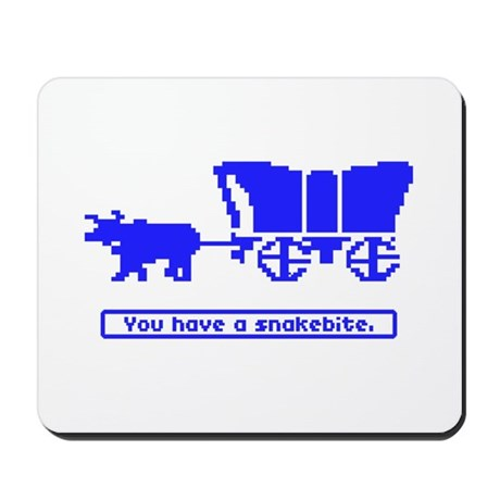 You Have a Snakebite Mousepad