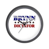 BRYNN for dictator Wall Clock
