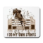 Hunter, Jumper Horse Stunts Mousepad