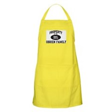 Property of Obrien Family BBQ Apron