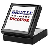 BRIELLE for dictator Keepsake Box