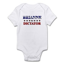 BRIANNE for dictator Infant Bodysuit