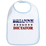 BRIANNE for dictator Bib