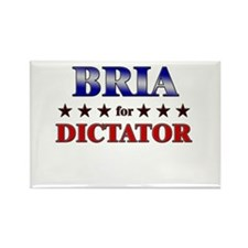 BRIA for dictator Rectangle Magnet