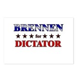 BRENNEN for dictator Postcards (Package of 8)