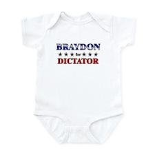 BRAYDON for dictator Infant Bodysuit