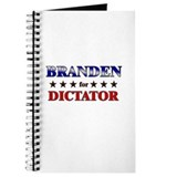 BRANDEN for dictator Journal