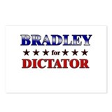BRADLEY for dictator Postcards (Package of 8)