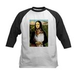 Mona's Sable Sheltie Kids Baseball Jersey