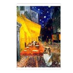 Cafe / Sheltie Postcards (Package of 8)
