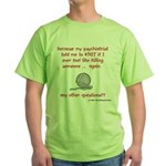 Knitting Wear! Green T-Shirt
