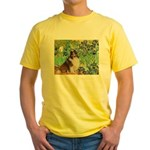 Irises / Sheltie Yellow T-Shirt