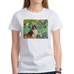 Irises / Sheltie Women's T-Shirt