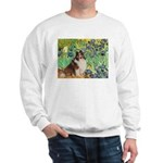 Irises / Sheltie Sweatshirt