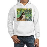 Irises / Sheltie Hooded Sweatshirt
