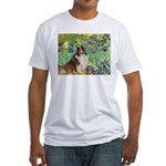 Irises / Sheltie Fitted T-Shirt