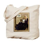 Whistler's / Sheltie Tote Bag