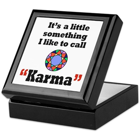 It's something I call Karma Keepsake Box