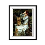 Ophelia / Silky T Framed Panel Print