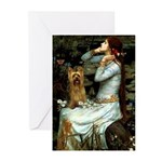 Ophelia / Silky T Greeting Cards (Pk of 10)