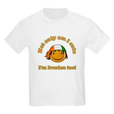 Not only am I cute I'm Ivorian too T-Shirt