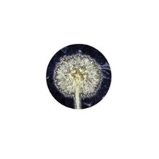 Dandelion Puff Mini Button