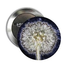 "Dandelion Puff 2.25"" Button"