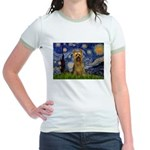 Starry Night / Silky T Jr. Ringer T-Shirt
