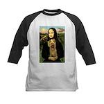 Mona Lisa / Silky T Kids Baseball Jersey