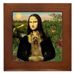 Mona Lisa / Silky T Framed Tile