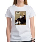 Whistler's / 3 Shelties Women's T-Shirt