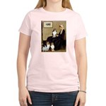 Whistler's / 3 Shelties Women's Light T-Shirt