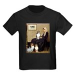 Whistler's / 3 Shelties Kids Dark T-Shirt
