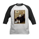 Whistler's / 3 Shelties Kids Baseball Jersey