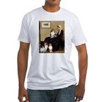 Whistler's / 3 Shelties Fitted T-Shirt