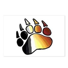 BEAR PRIDE PAW2/TONES Postcards (Package of 8)