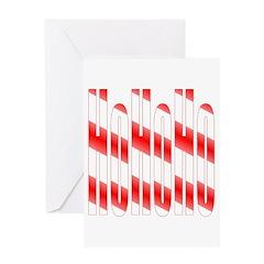 Ho Ho Ho Secret Santa Greeting Card
