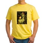 Ophelia / Shelie tri Yellow T-Shirt