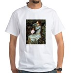 Ophelia / Shelie tri White T-Shirt