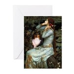 Ophelia / Shelie tri Greeting Cards (Pk of 10)