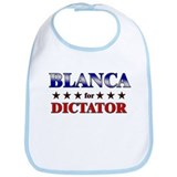 BLANCA for dictator Bib