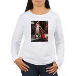 Accolade / Sheltie tri Women's Long Sleeve T-Shirt