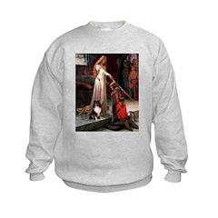 Accolade / Sheltie tri Kids Sweatshirt