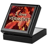 I love Vermont Keepsake Box