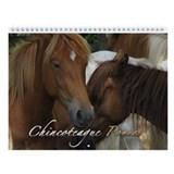 Chincoteague Ponies Calendar Wall Calendar