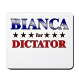 BIANCA for dictator Mousepad