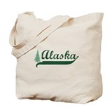 Alaska - Green Tote Bag