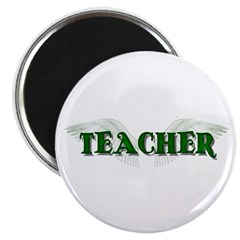 "Angel Wings Teacher 2.25"" Magnet (10 pack)"